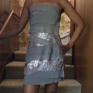 Dresses & Skirts - Silver Sequin Dress 🥂